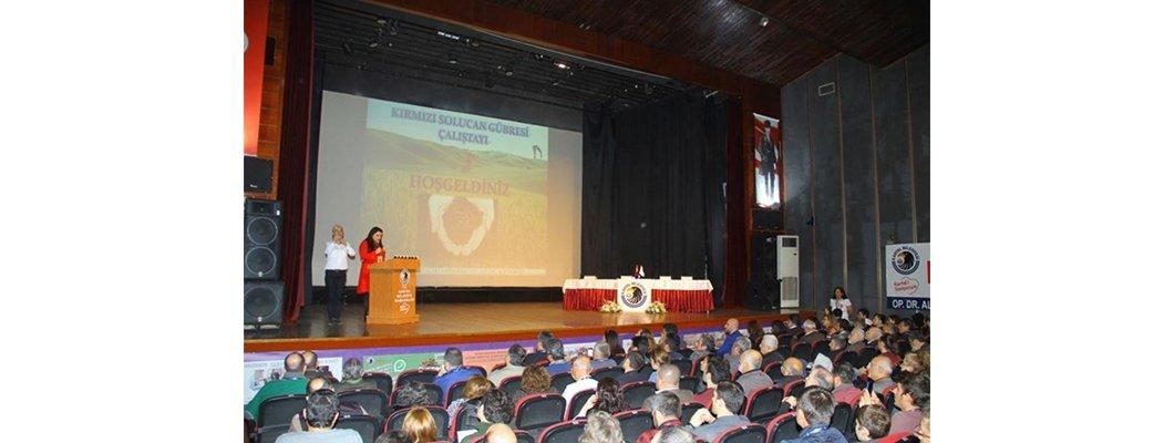 Kırmızı Solucan Gübresi Çalıştayı Kartal da gerçekleştirildi