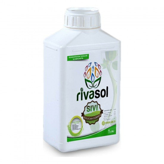1 Litre Sıvı Solucan Gübresi  | Rivasol