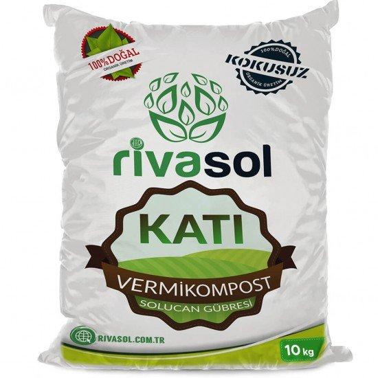 10 Kg Organik Katı Solucan Gübresi  | Rivasol