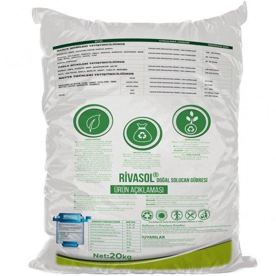 20 Kg Organik Katı Solucan Gübresi  | Rivasol