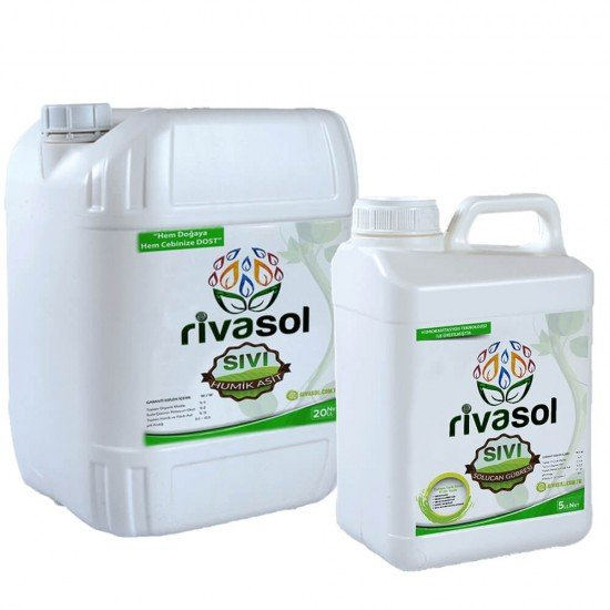 20 litre Hümik Asit ve 5 litre Sıvı Solucan Gübresi Kombin  | Rivasol