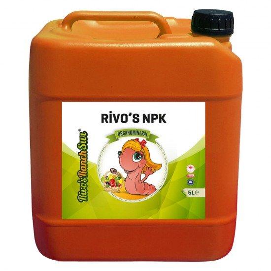 5 litre NPK'lı Sıvı Organomineral Gübre  | Rivasol