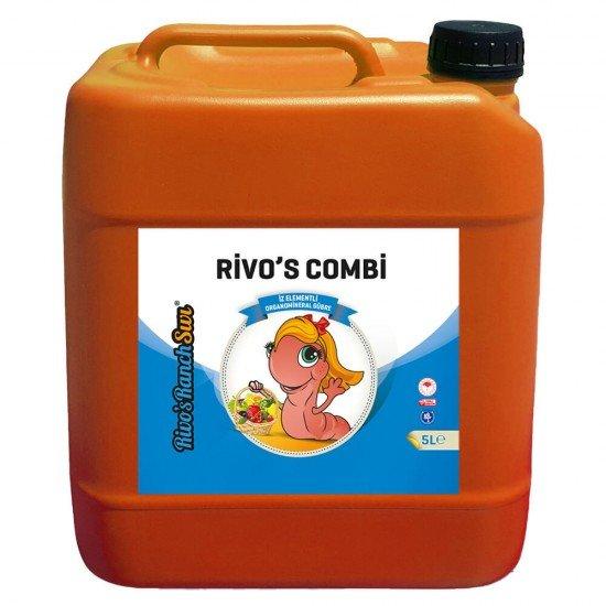 5 litre Sıvı Organomineral Gübre  | Rivasol