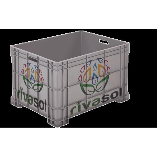 RV-1003 Plastik Kapalı Kasa ( 200 Kg )  | Rivasol