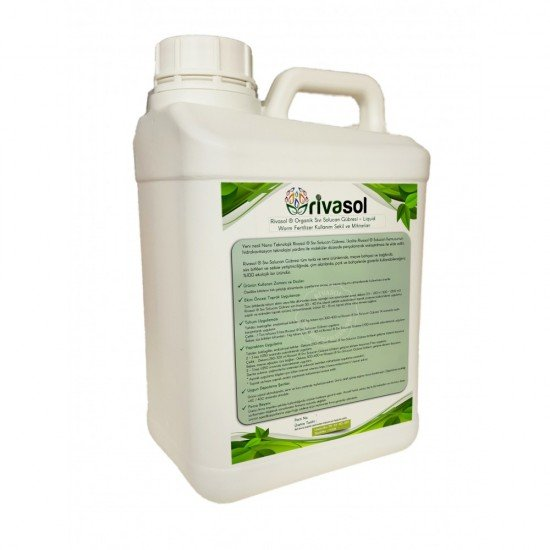 5 Litre Sıvı Solucan Gübresi  | Rivasol