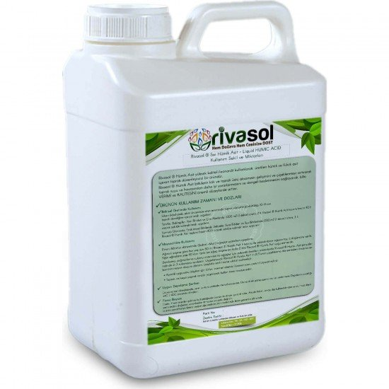 5 Litre Hümik Asit - Rivasol ® Hümik Asit