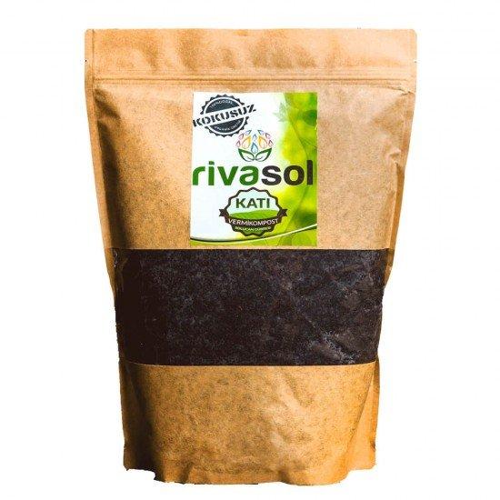 1 Kg Doğal Solucan Gübresi Doğa Dostu Kraft Paket  | Rivasol