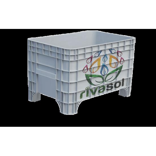 RV-1002 Plastik Kapalı Kasa ( 300 Kg )  | Rivasol